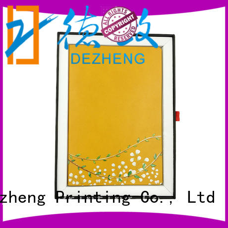 Dezheng portable leather note book premium for career