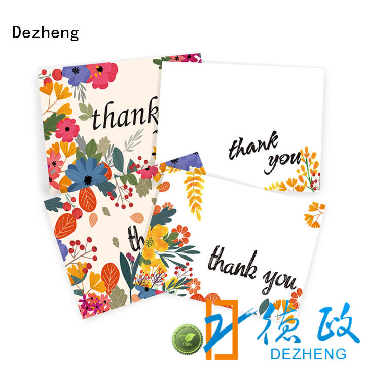 Dezheng at discount thankful cards pack for festival