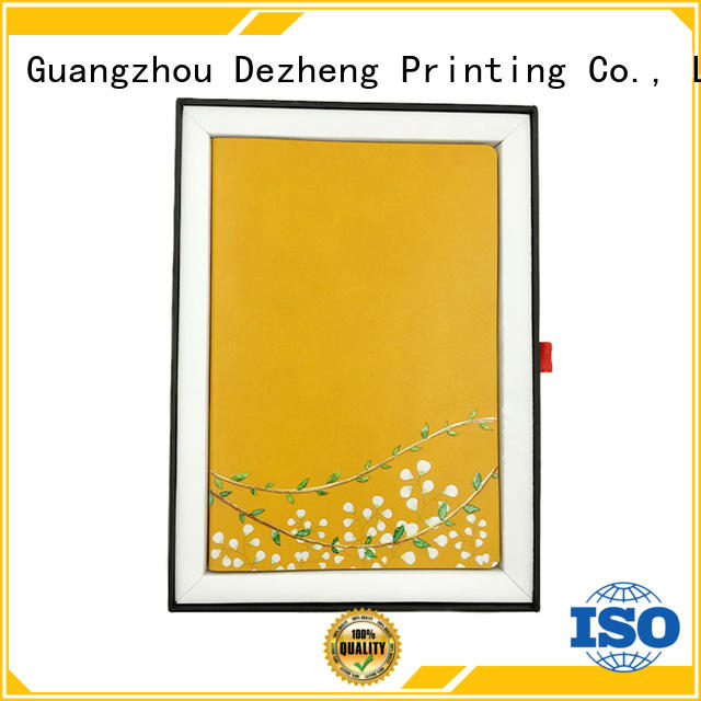 Dezheng soft embossed leather notebook Suppliers For school