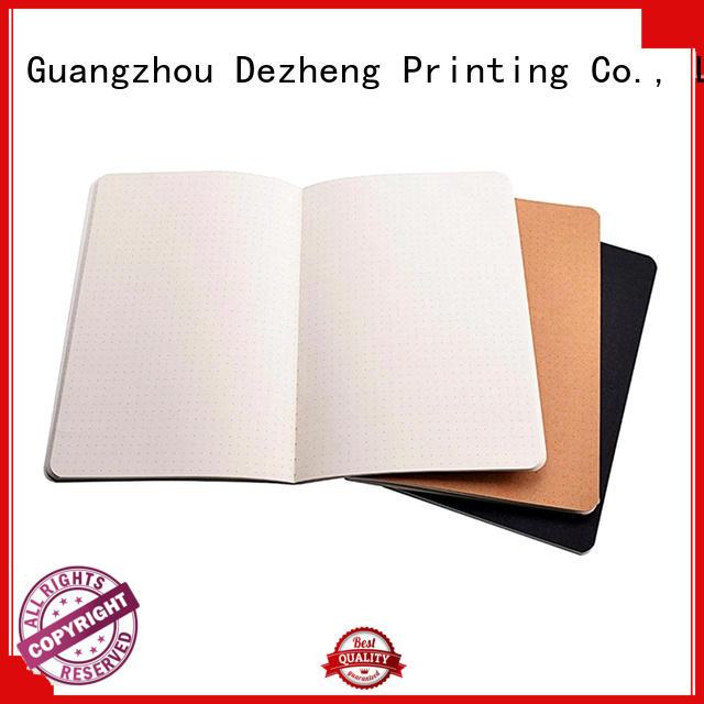 Dezheng durable Notebook Manufacturer bulk production For business