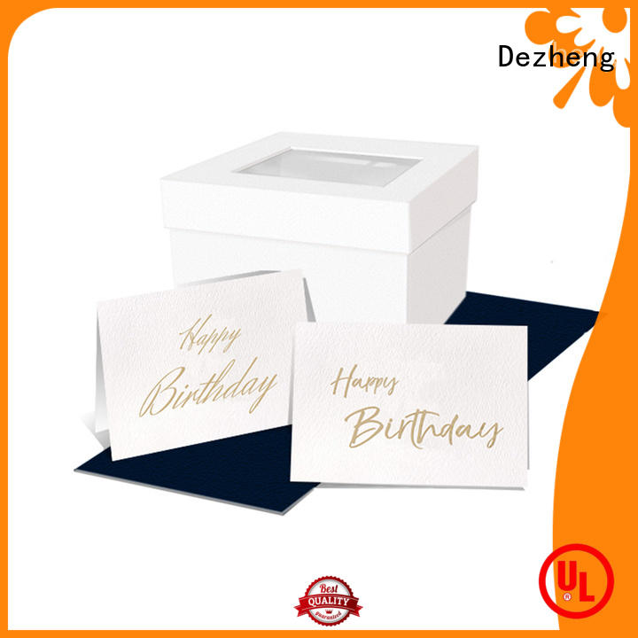 Dezheng latest custom birthday cards get quote