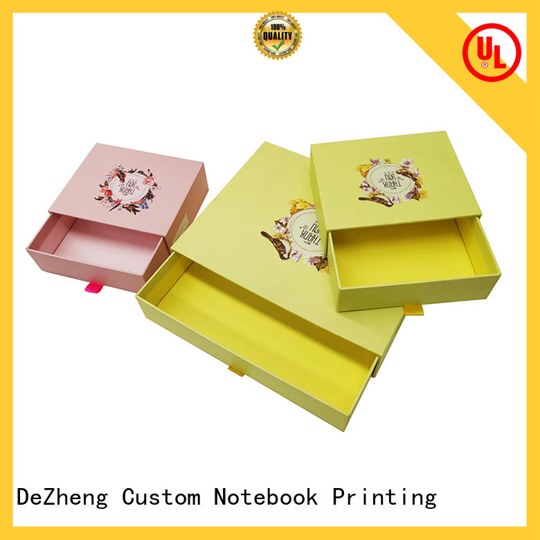 Dezheng rectangle cardboard packing boxes for sale Suppliers for festival