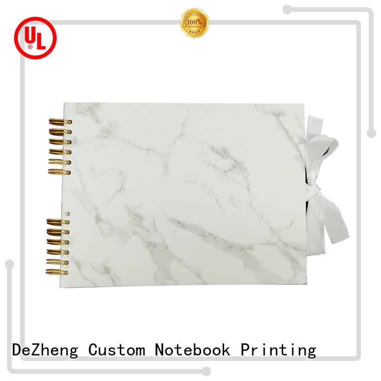 Dezheng funky personalized leather photo albums for wholesale For photo saving
