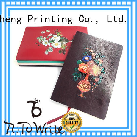 Dezheng on-sale personalized leather journals notebooks a6 for note taking