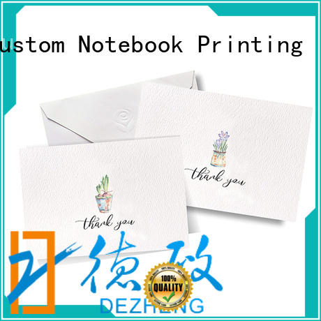 Dezheng cards custom design greeting cards Supply for friendship