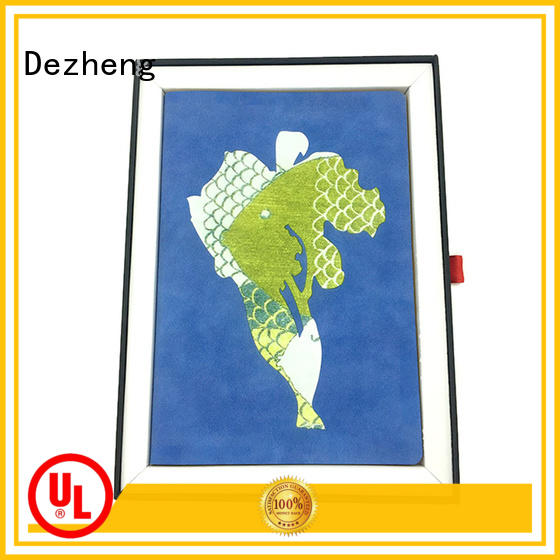 Dezheng funky custom printed notebooks get quote for career