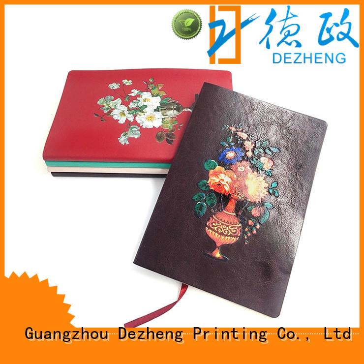 Dezheng printed custom notebook company For school