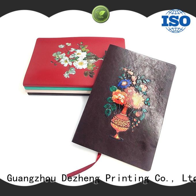 Dezheng leather notebook company customization for note taking