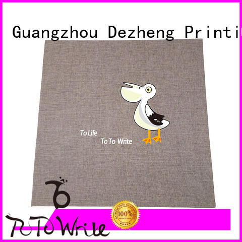 adhesive self stick albums get quote for gift Dezheng