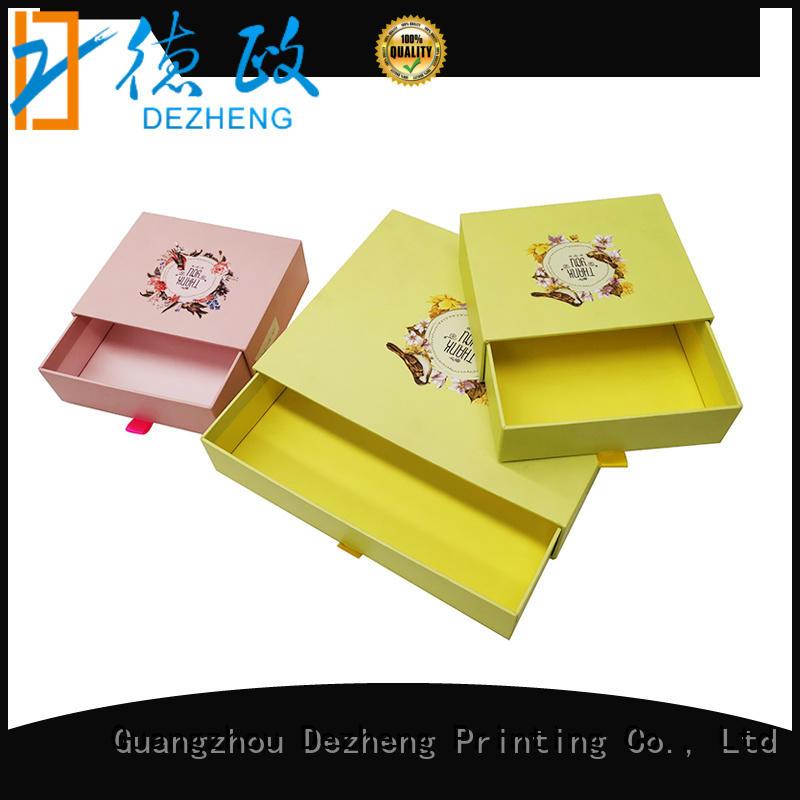paper custom made paper boxes flip for festival Dezheng