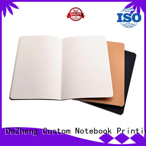 binding blank paper notebook pages For business Dezheng
