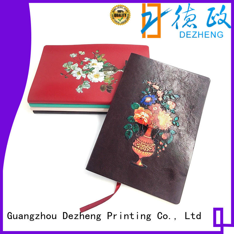 Dezheng ribbon Notebook Wholesale Suppliers for note taking