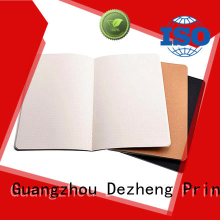 Dezheng High-quality quality paper notebooks company For student