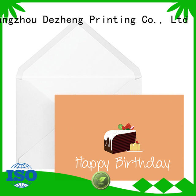 Dezheng boxes happy birthday beautiful cards free sample For birthday