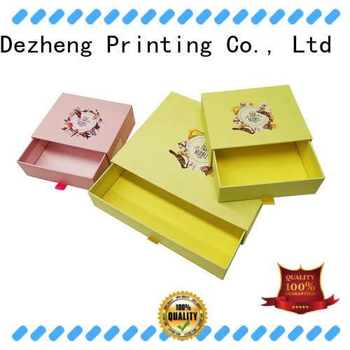 Dezheng personalized custom packaging boxes OEM for gift