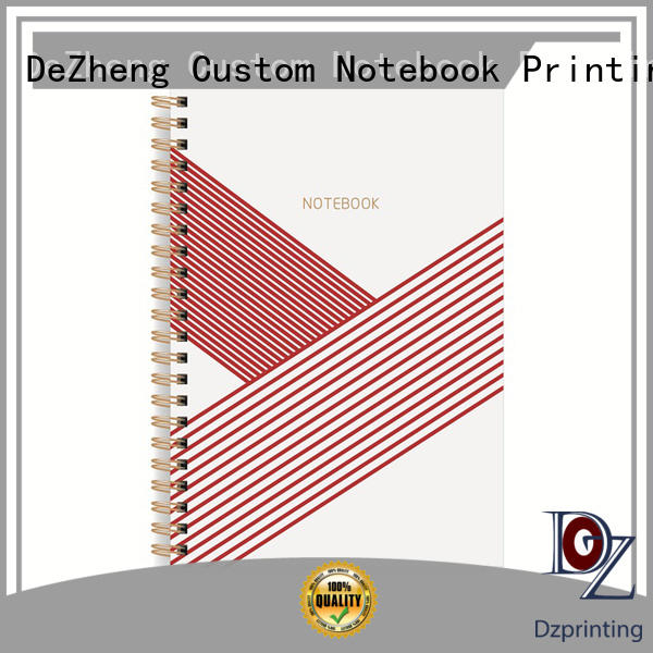 Breathable spiral bound notebook bound bulk production for note taking