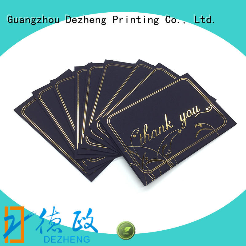 Dezheng greeting beautiful greeting cards company for festival