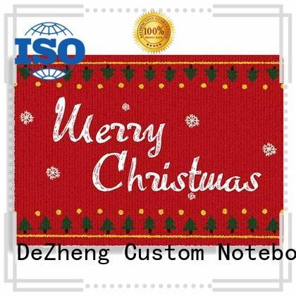 Dezheng white custom design christmas cards factory For festival gift