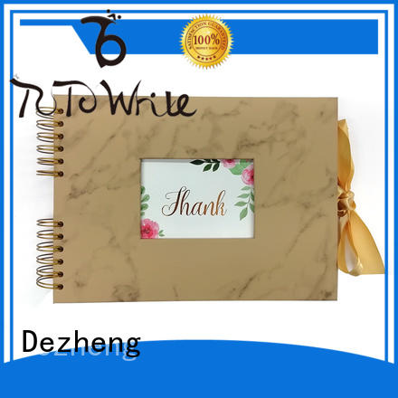 Dezheng closure leather photo albums get quote For photo saving