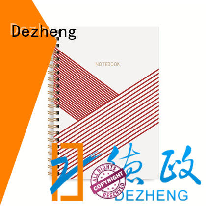Dezheng solid mesh notebook spiral binding OEM for note taking