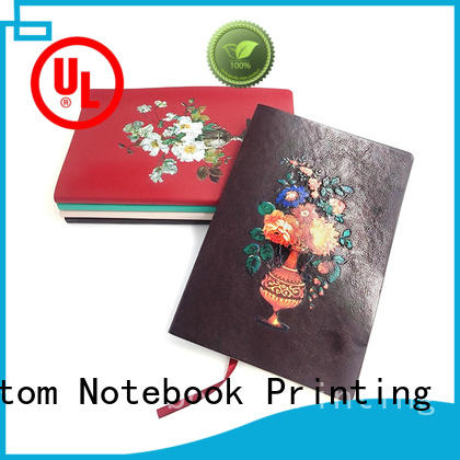 edge leather notebook cover bulk production for note taking Dezheng