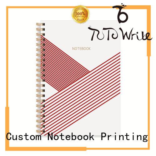 Dezheng gold custom spiral notebooks OEM For school