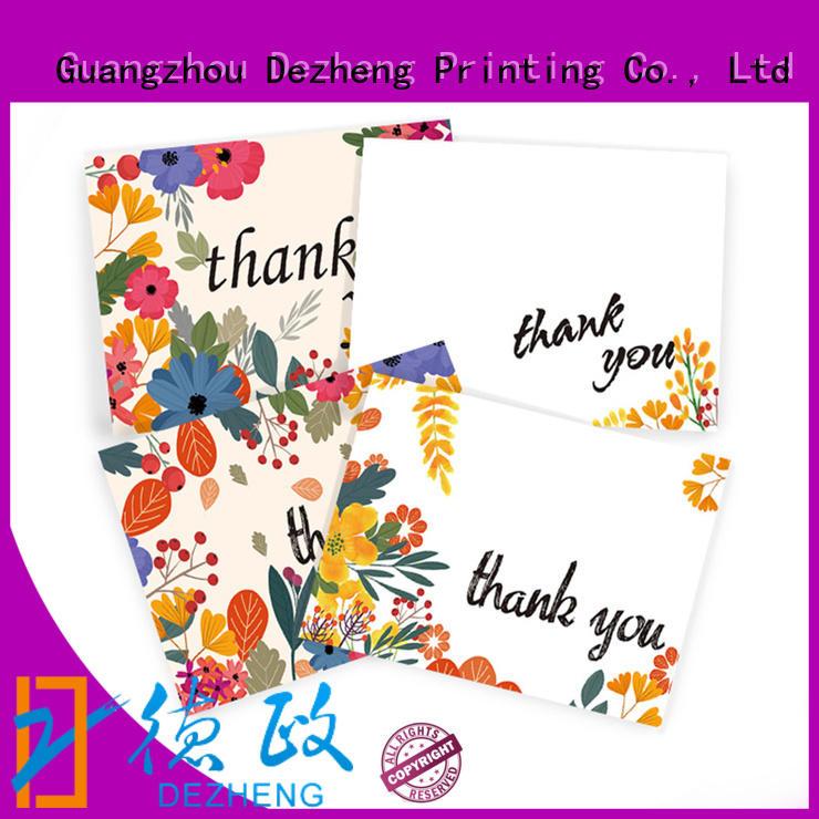 Dezheng Best blank thank you cards