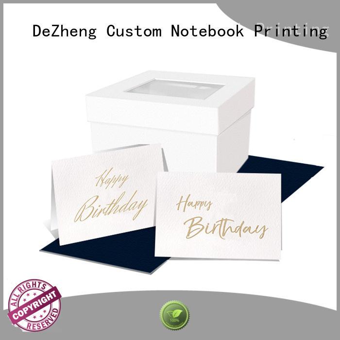 Dezheng children personalised cards customization For birthday