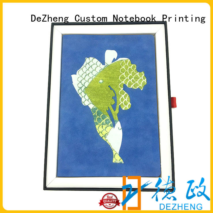 Dezheng pages pu leather planner supplier For school