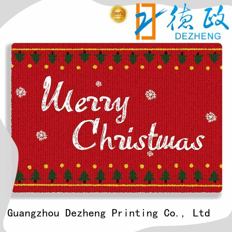 durable merry christmas personalized cards animal Supply For festival gift