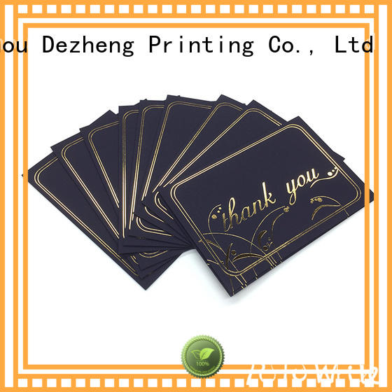 Dezheng paper greeting card with envelope buy now for friendship