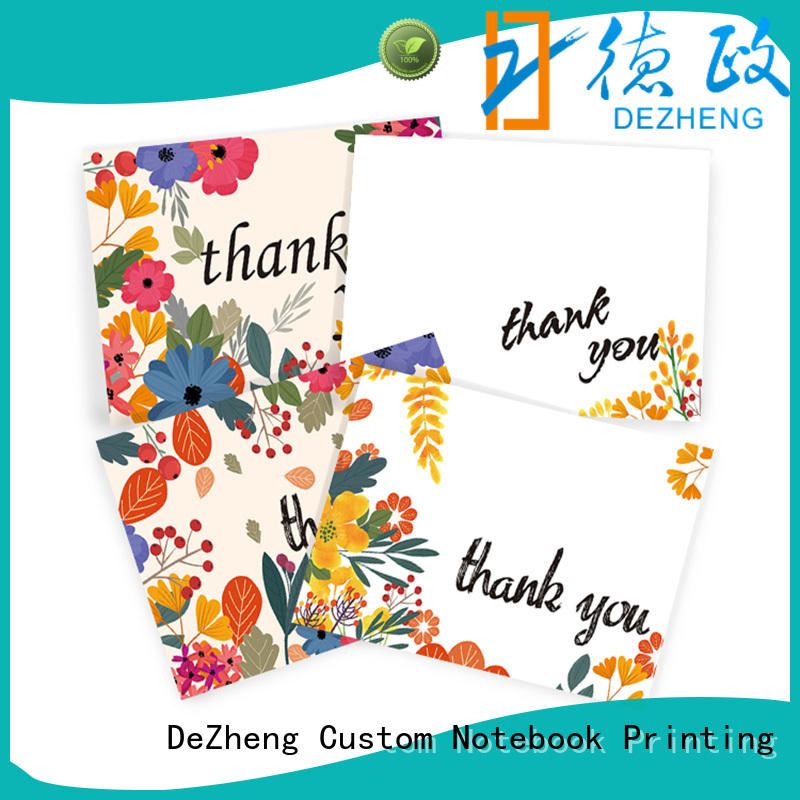 Custom professional thank you cards you for business for festival