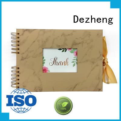 Dezheng high-quality photo scrapbook Supply For photo saving