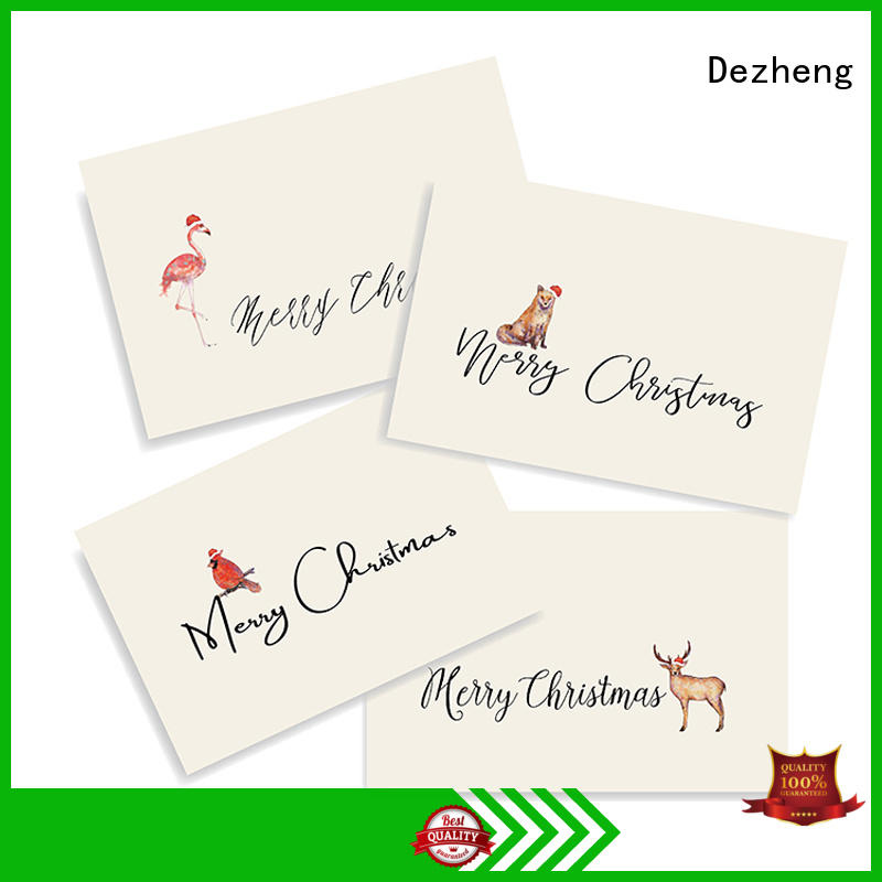 high-quality christmas greeting card creative get quote For festival gift