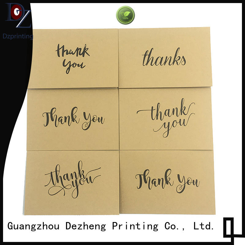 latest custom thank you cards you for gift