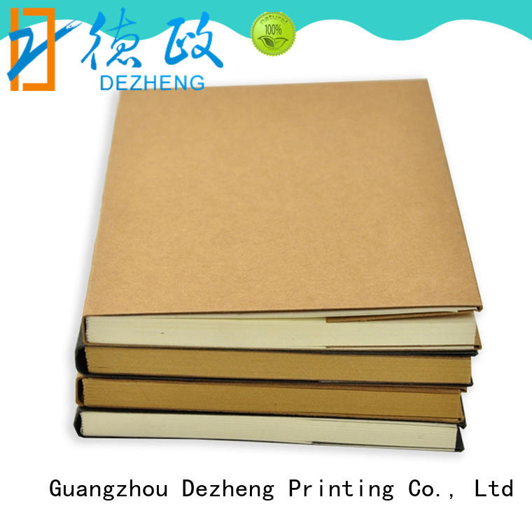 free design Custom Notebook Printing Manufacturers customization For notebooks logo design Dezheng