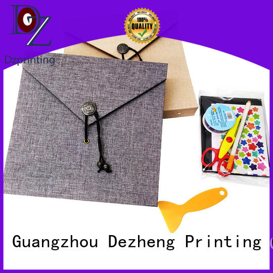 Dezheng photo self stick albums for photographers customization for friendship