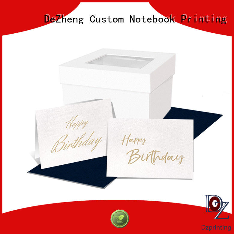 Latest personalised cards embossed For birthday