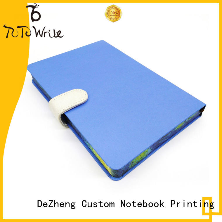 Dezheng Breathable business notebook for wholesale For note-taking