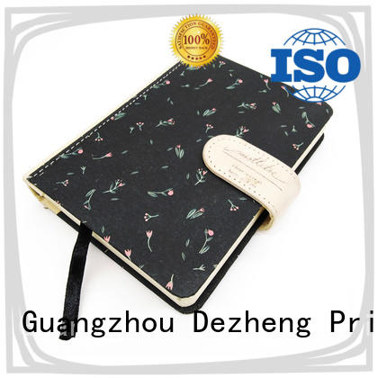 Dezheng Breathable hardcover notebook bulk production For note-taking