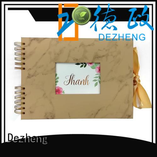 Dezheng latest photo scrapbook supplier For photo saving