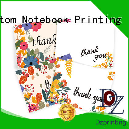 high-quality thank card thank supplier for friendship