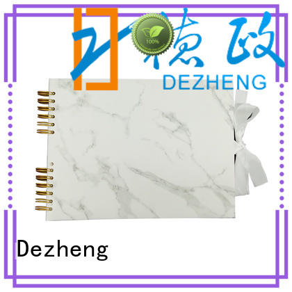 Dezheng marble photo album leather company For memory saving