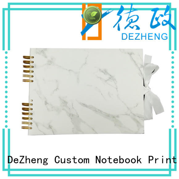 Dezheng portable custom leather photo album company For memory saving