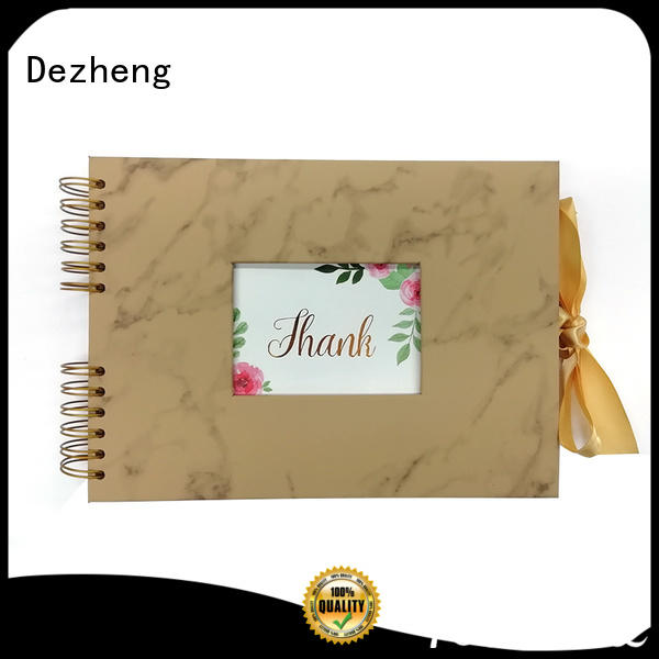 Dezheng funky photo album leather photo For memory saving