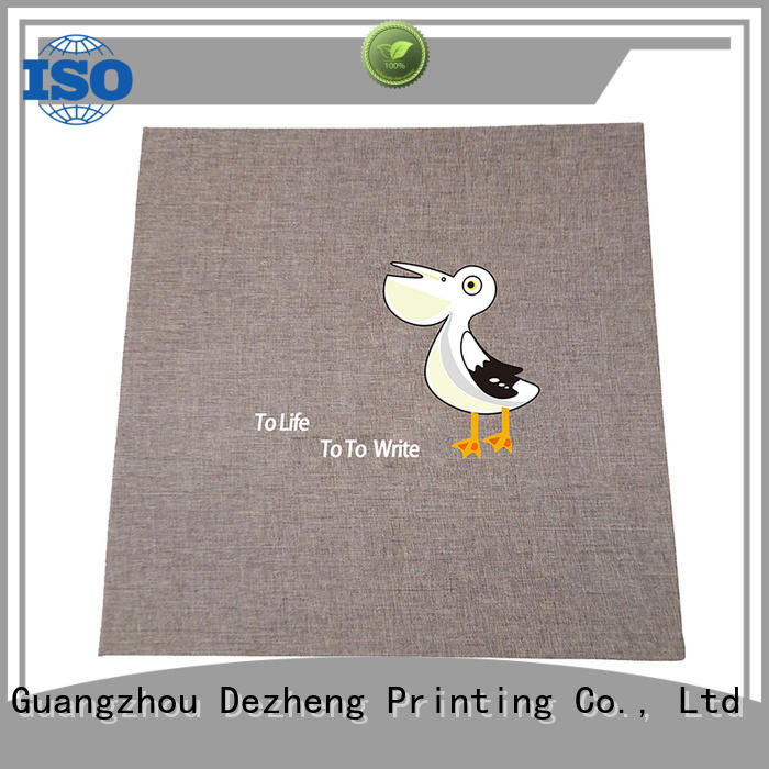 Dezheng pages self adhesive photo albums for sale for gift