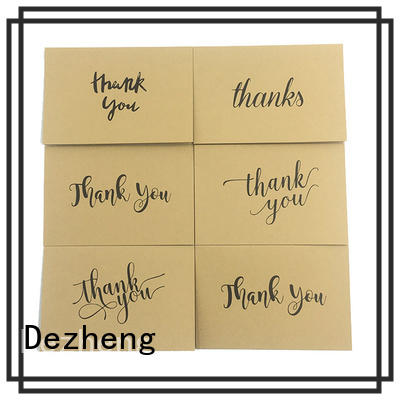 custom printed thank you cards you for friendship Dezheng