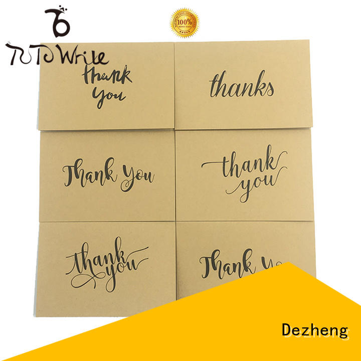 36 blank thank you cards quality for gift Dezheng