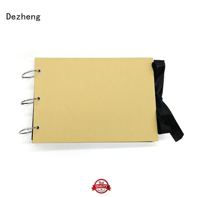 Dezheng high-quality photo album scrapbook supplies customization For Memory