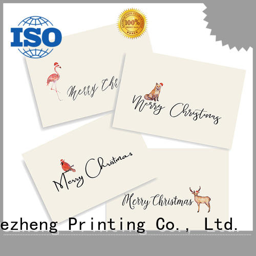 Dezheng merry professional christmas cards customization